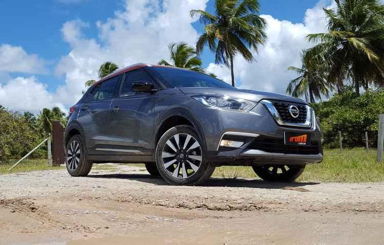 Nissan anunica versão acessível do SUV Kicks  - Bruno Vasconcelos / DP