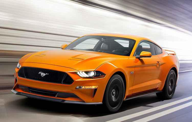 Câmbio de dez velocidades será de série no automóvel, além de um motor 5.0 V8 totalmente aspirado e uma outra opção 2.3 - Ford/Divulgação