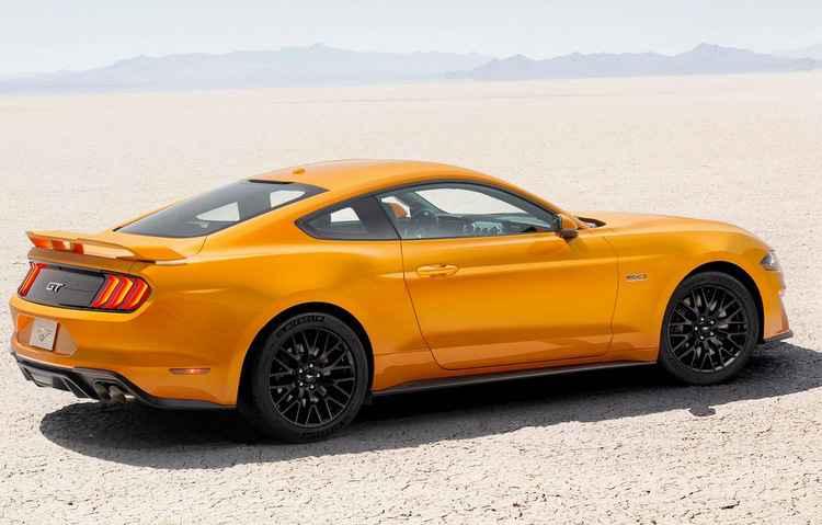 Esportivo pode produzir até 526 cavalos de potência e ir de 0 a 100 km/h em cerca de 4 segundos - Ford/Divulgação