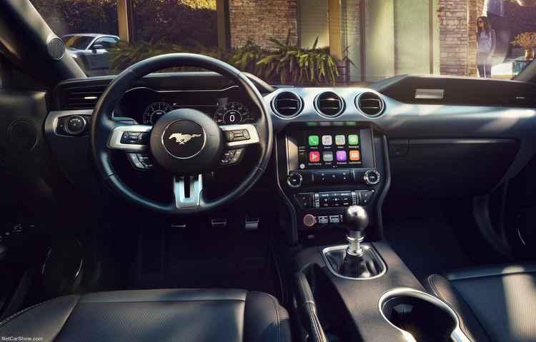 Painel digital de 12 polegadas é destaque do modelo - Ford/Divulgação
