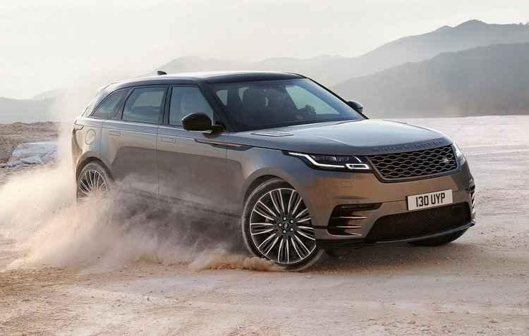 Novo Range Rover Velar terá preços que partem dos R$ 291 mil até os R$ 513 mil - Land Rover / Divulgação