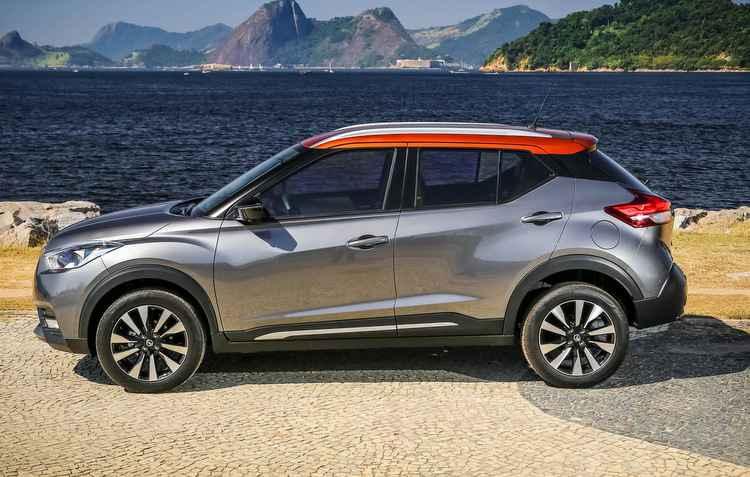 Nissan é uma das montadoras que investe nas cores, destaque para o novo Kicks - Nissan/Divulgação