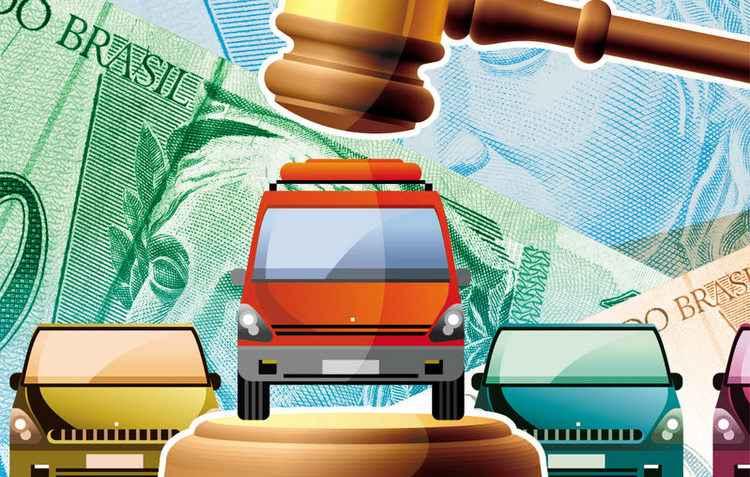 Economia na hora da compra de um automóvel em leilão pode chegar a 30% do valor de tabela do veículo - Silvino / DP
