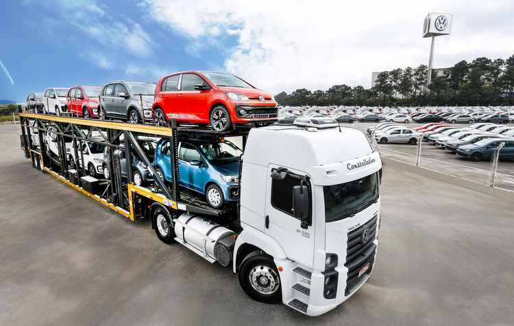 Modelo mais exportado foi o Gol com 32.158 unidades - Volkswagen / Divulgação