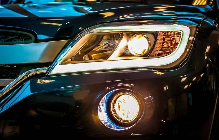 SUV oferece novos faróis de neblina com ajustes de altura elétricos e luz de LED - Lifan/Divulgação