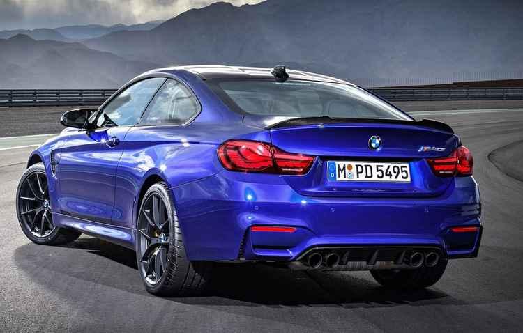 Máquina faz de 100 km/h em apenas 3,9 segundos - BMW/Divulgação