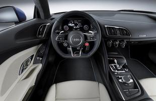 Audi apresenta a segunda geração do R8, que fará sua estreia no Salão de Genebra (SUI)