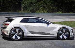 Protótipo híbrido conta com dois mortores elétricos e tem partes da estrutura feitas de fibra de carbono