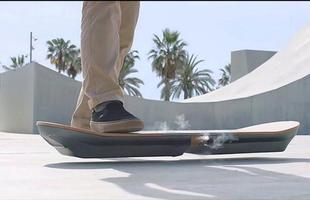 Lexus Hoverboard utiliza levitação magnética para alcançar um movimento incrível sem atrito