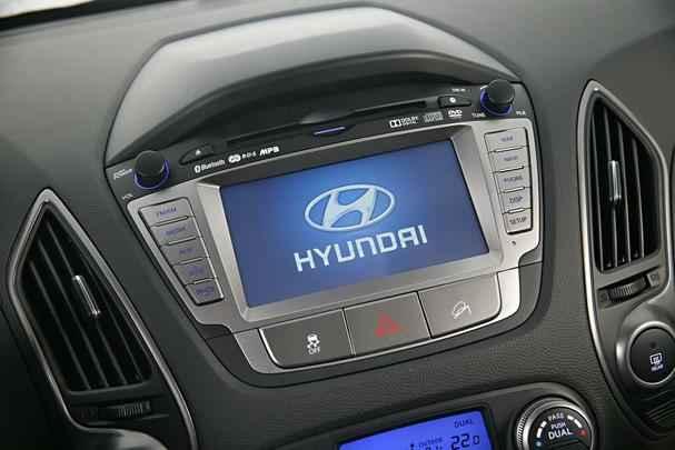 Tela multimídia de 7 polegadas e GPS a partir da versão intermediária