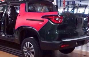 Picape Fiat Toro na produção da fábrica de Goiana