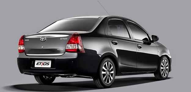 Toyota lança Etios Platinum custando a partir de R$ 47.090