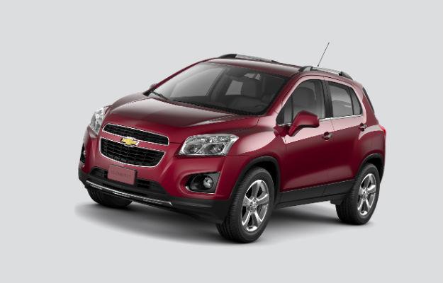 Chevrolet apresenta linha 2015 do Tracker
