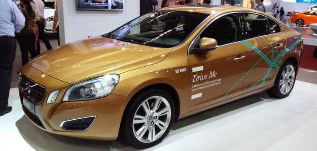 Carro autônomo da Volvo faz primeiro teste no Brasil