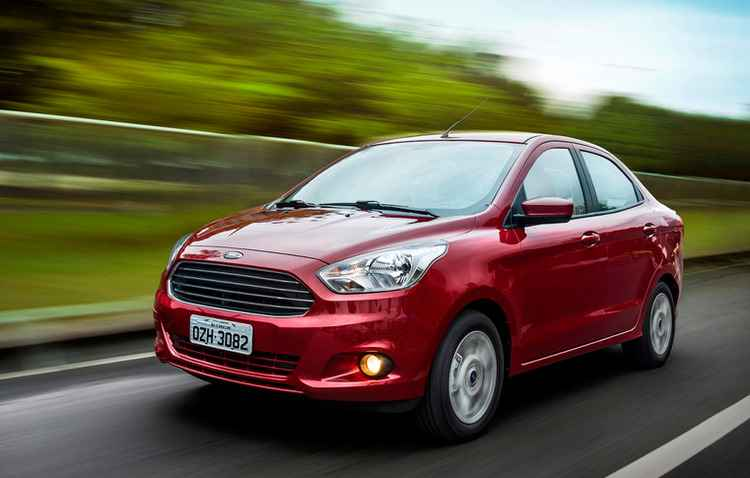 Modelos podem ser equipados motores 1.0 ou 1.5 - Ford/divulgação