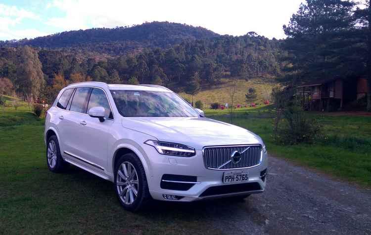 Dianteira revela muito sobre a nova identidade visual da Volvo  -  Jorge Moraes/DP/D.A Press