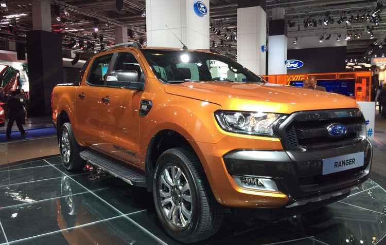 Ford Ranger ganha novo conjunto de faróis, grade dianteira rodas e estribos - JORGE MORAES/DP/D.A PRESS