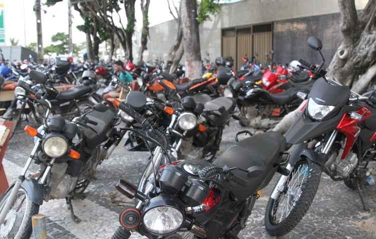 Aumento de 0,5% no imposto das motocicletas - Nando Chiappetta/DP/D.A Press