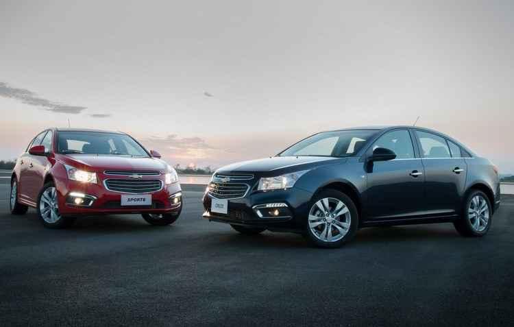 Na linha 2016, Cruze Sedã e Cruze Sport6 oferecem o OnStar - Chevrolet / Divulgação