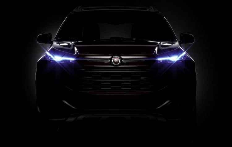 Teaser do utilitário, com previsão de lançamento em fevereiro, mostra semelhança com Jeep Cherokee - Fiat / Divulgação
