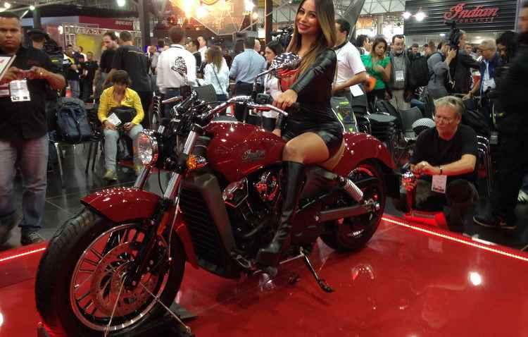 Moto é equipada com motor V-Twin de 883 cm3 -  Taciana Goes/DP/D.A Press