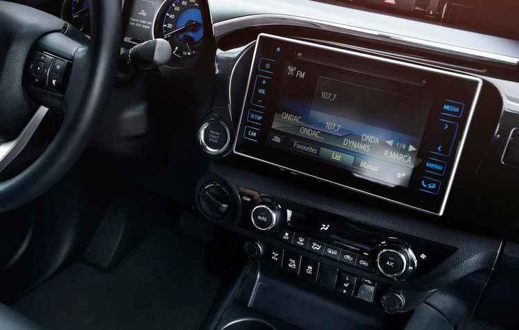 Tela multimídia está mais atual - Toyota/divulgação