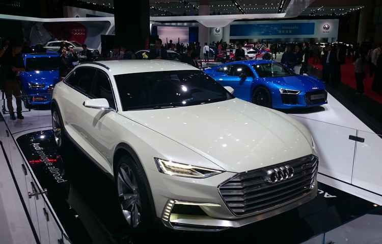 Audi Prologue allroad concept - Jorge Moraes/ DP/ D.A Press