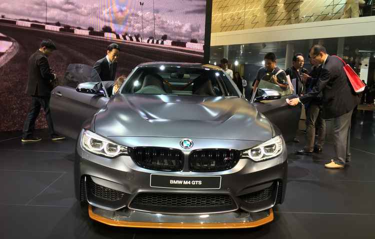 BMW M4 GTS - Jorge Moraes/ DP/ D.A Press