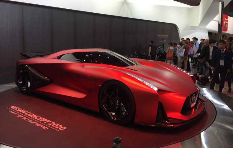 Carro da Nissan foi baseado em videogame e deve inspirar nova geração do GTR - Jorge Moraes DP D.A Pres