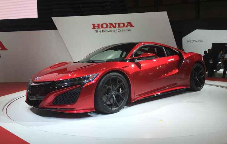 Honda NSX - Jorge Moraes DP D.A Press