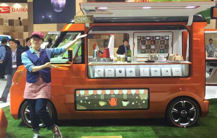 Na moda das ruas, a Daihatsu Tempo apresentou o seu food truck   - Jorge Moraes/DP/D.A Press