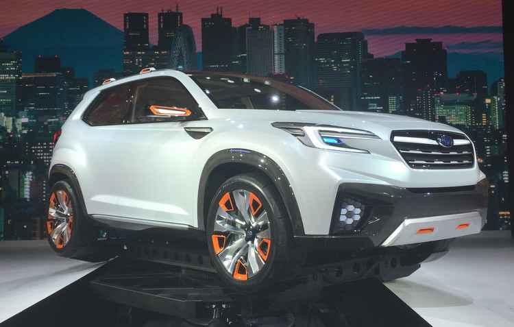 Subaru Viziv antecipa possíveis imprevistos no trajeto do motorista -  Jorge Moraes/DP/D.A Press