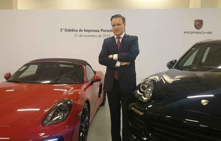Presidente Matthias Brück anunciou que o Brasil voltará a ser o primeiro mercado da América Latina  - Jorge Moraes/DP/DA PRESS