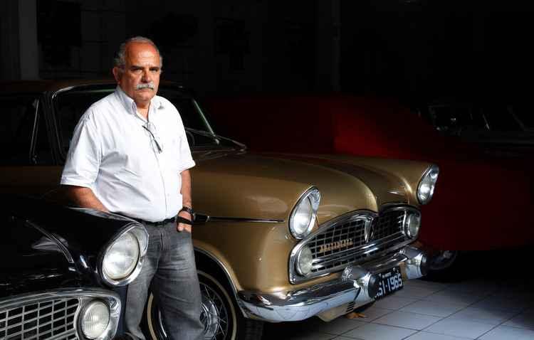 Quatro dos 20 carros de gérico Vaz tiveram problemas causados pela inércia - Ricardo Fernandes/DP