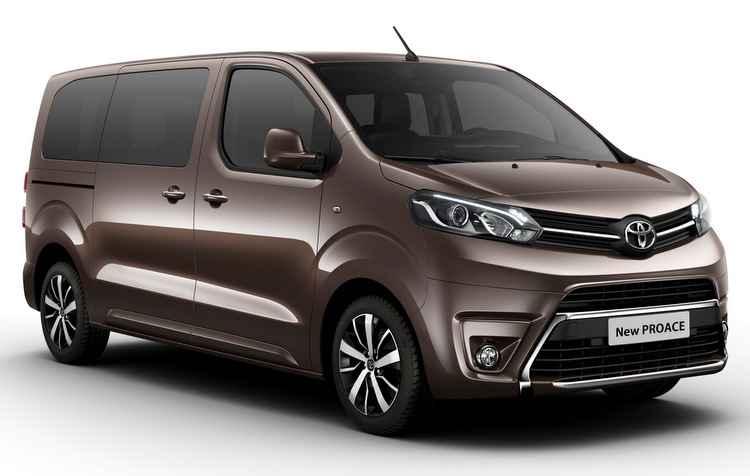 Toyota Proace foi baseado em Peugeot Expert e Citroën Jumpy - Toyota/divulgação