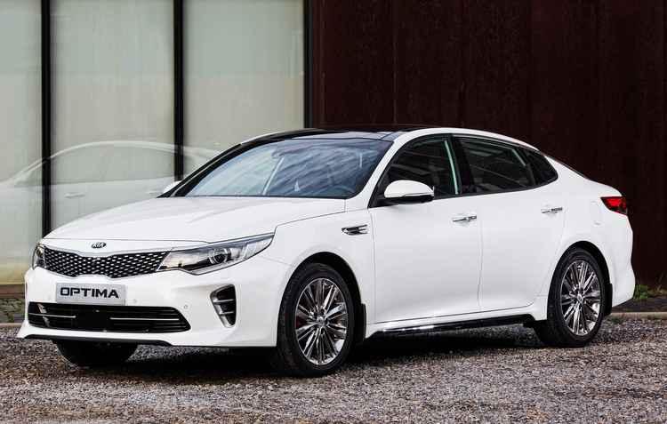 Optima chega em junho após facelift - Kia/divulgação