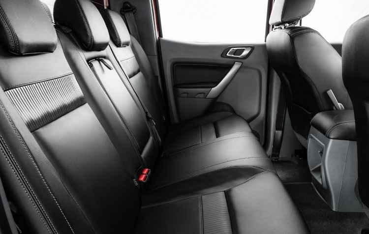 Bancos em couro com ergonomia - Ford/ divulgação