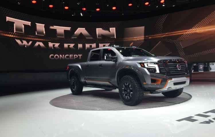 Nissan Titan Warrior Concept - Jorge Moraes / Divulgação