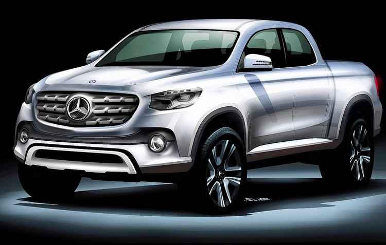 Classe X, como deverá ser batizada, será equipada com motor a diesel de quatro ou seis cilindros - Mercedes/Divulgação