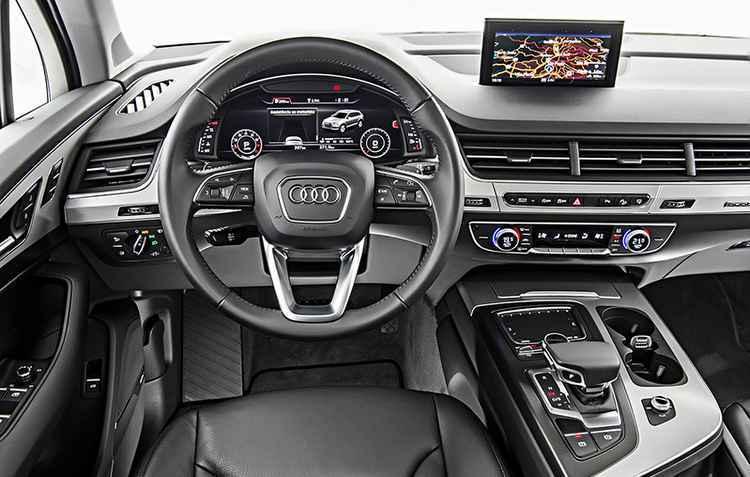 Interior tem roteador wi-fi e ar-condicionado individual - Audi / Divulgação
