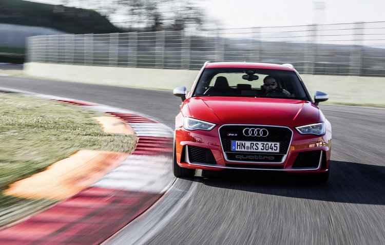 Novo Audi RS 3 Sportback já disponível nas lojas