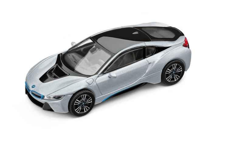 Miniatura do modelo i8 chega a ter valor de R$ 679,90 - BMW / Divulgação