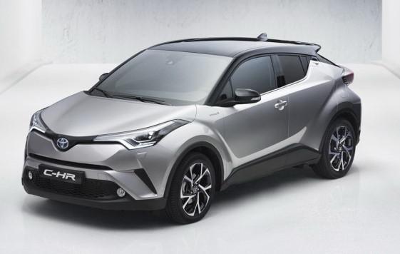 O C-HR manterá os ares de cupê e o visual arrojado presente do protótipo - Toyota / Divulgação