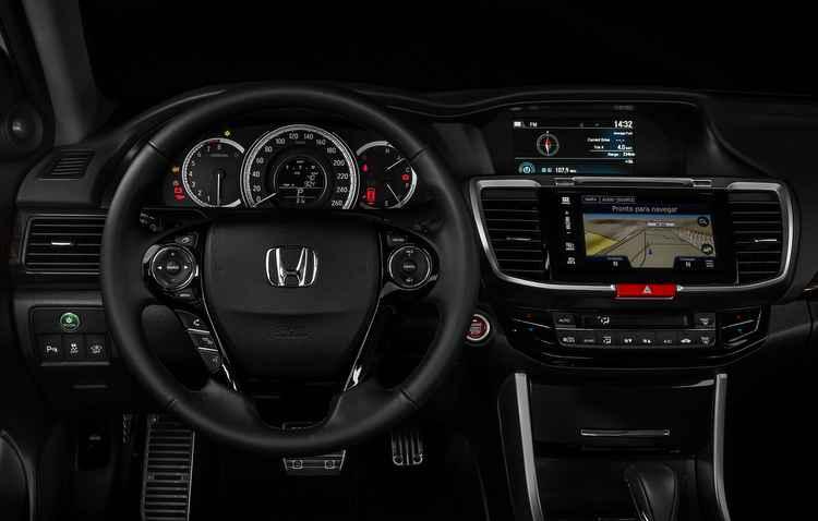 Nova central multimídia de 7 polegadas - Honda / Divulgação