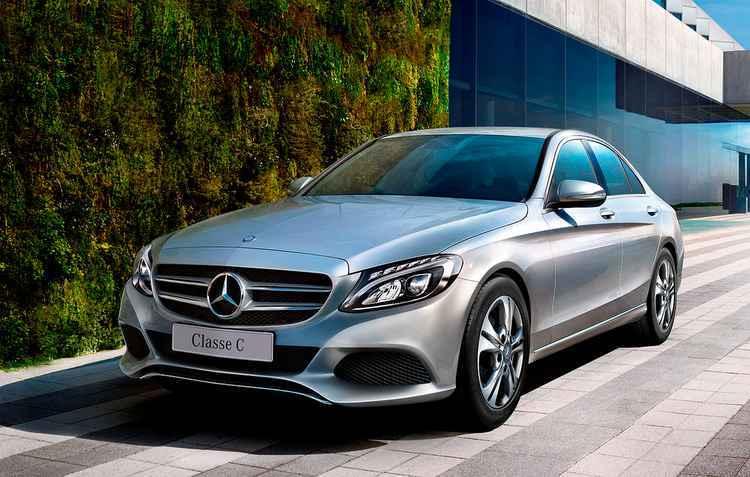 C180 representa 43% das vendas da linha Classe C - Mercedes / Divulgação