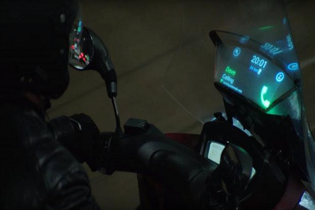 Dispositivo criado pela Samsung e Yamaha projeta informações no parabrisa - Samsung/Divulgação