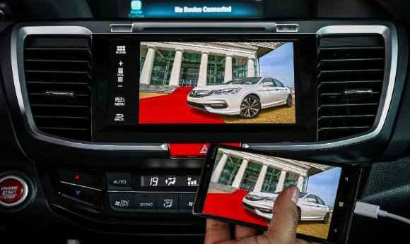 Multimídia do Honda Accord é compatível com o sistema da Google - Honda/Divulgação