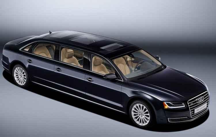 Sedã possui 4,22 metros de entre-eixos - Audi / Divulgação