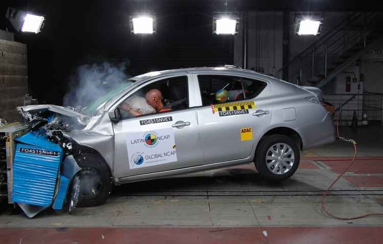 Toyota SW4 recebe cinco estrelas da Latin NCap