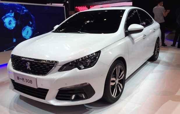 APeugeot revela na China a carroceria sedã da nova geração do médio francês que por aqui equivaleria ao 408 - Joint Photographic Experts Group / Divulgação